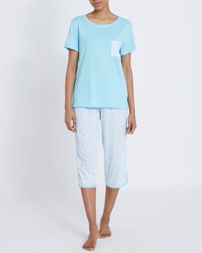 Cotton Modal Crop Pyjamas
