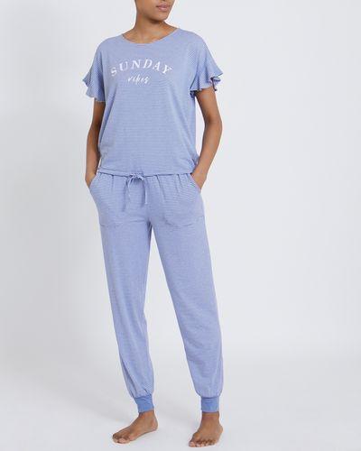 Frill Sleeve Pyjamas thumbnail