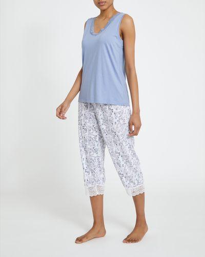 Cotton Modal Vest Crop Pyjamas