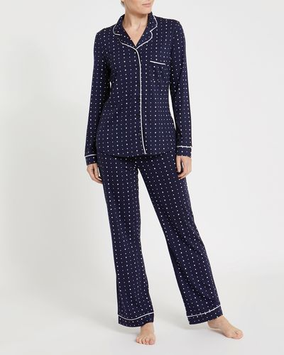 Navy Star Revere Pyjamas
