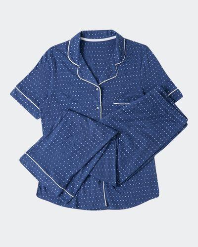 Cotton Modal Revere Short-Sleeved Pyjamas