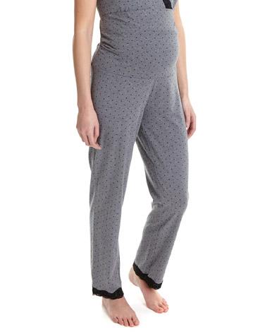 printMaternity Pyjama Pants