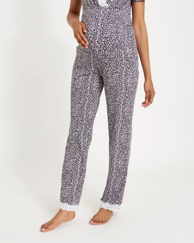 Maternity Animal Lace Pants
