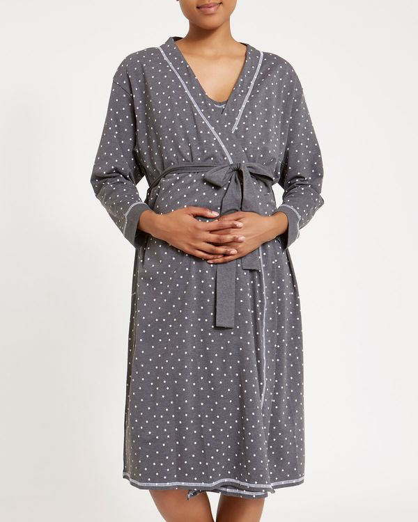 Maternity Star Print Wrap