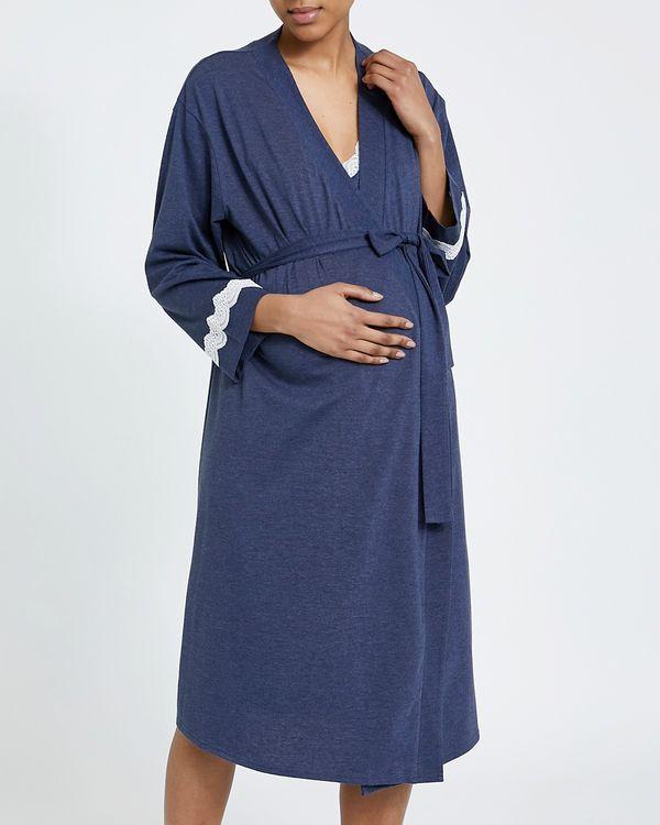 Maternity Lace Trim Wrap