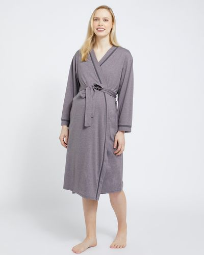 Maternity Piped Wrap