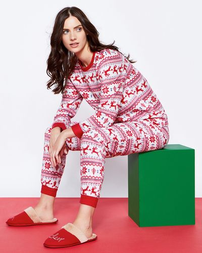 Fairisle Micro Fleece Pyjamas