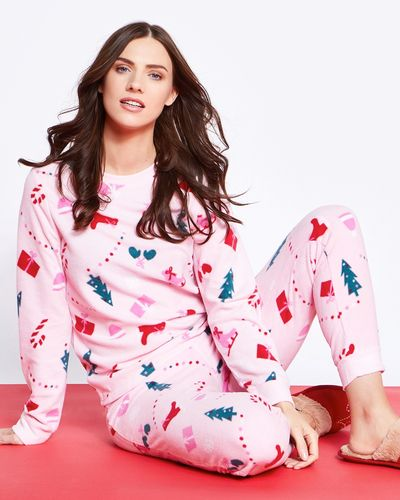 Ice Skates Micro Fleece Pyjamas