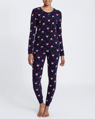 Reindeer Henley Pyjamas