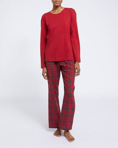 Knit Woven Pyjamas