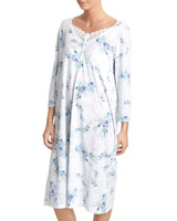 blue Trail Floral Nightdress (Regular Length)