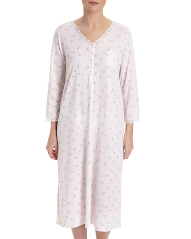 pinkNightdress With Lace