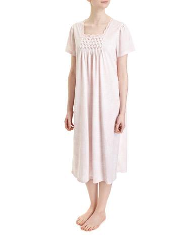 pinkRose Print Nightdress (Regular Length)