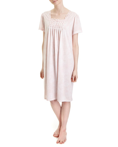 pinkRose Print Nightdress