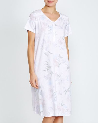 Pink Lily Floral Nightdress