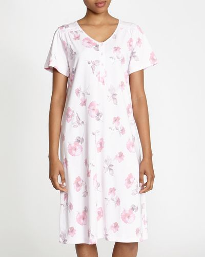 Pink Poppies Nightdress