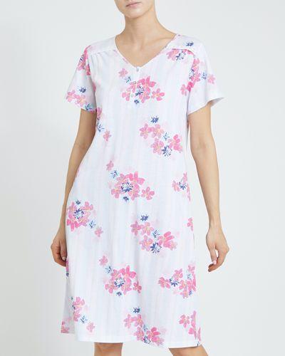 Stripe Floral Nightdress