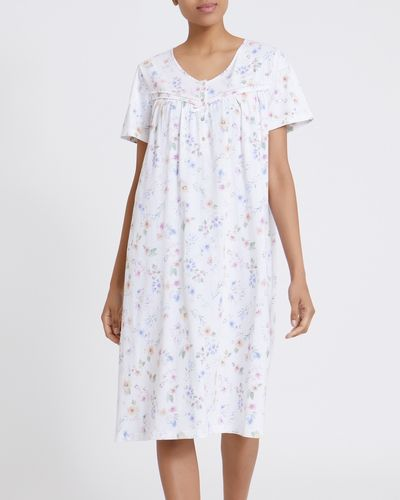 Ivory Floral Nightdress