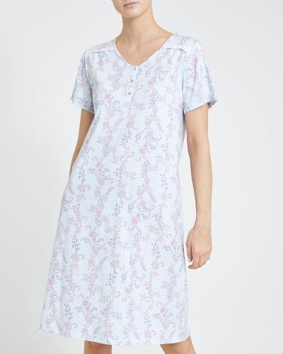 Blue Floral Nightdress