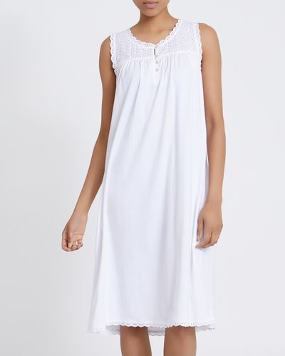 Cotton Anglais Nightdress