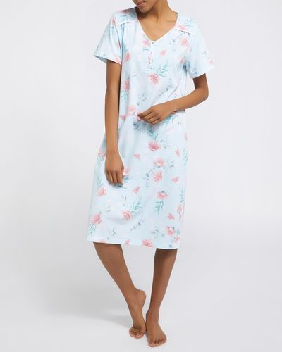 Floral Cotton Nightdress