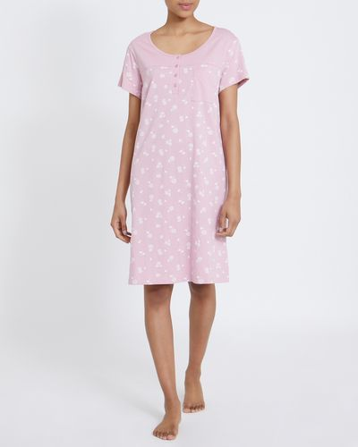 Button Trim Nightdress thumbnail