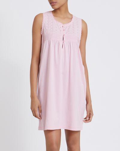 Cotton Button Nightdress