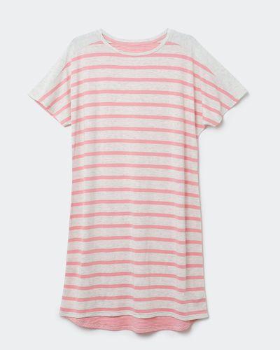 Cotton Modal Stripe Nightdress