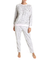 multi All-Over Print Animal Coral Fleece Pyjamas