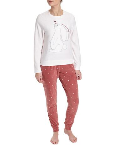 blushBunny Microfleece Pyjamas