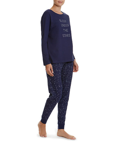 navy Galaxy Pyjamas
