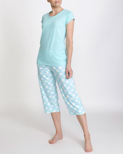 Daisy Cropped Pyjama Set