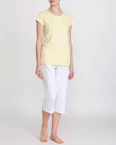 Star T-Shirt And Crop Leg Pyjamas
