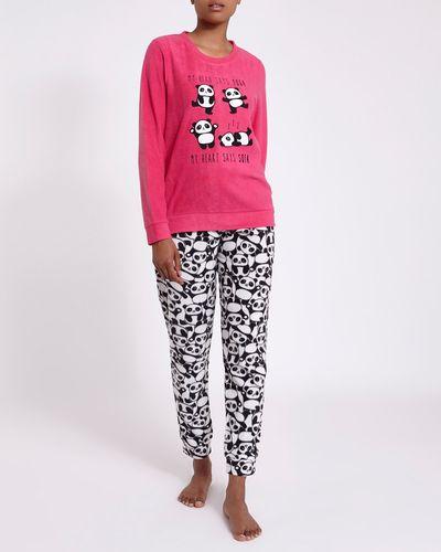 Panda Micro Fleece Pyjamas thumbnail