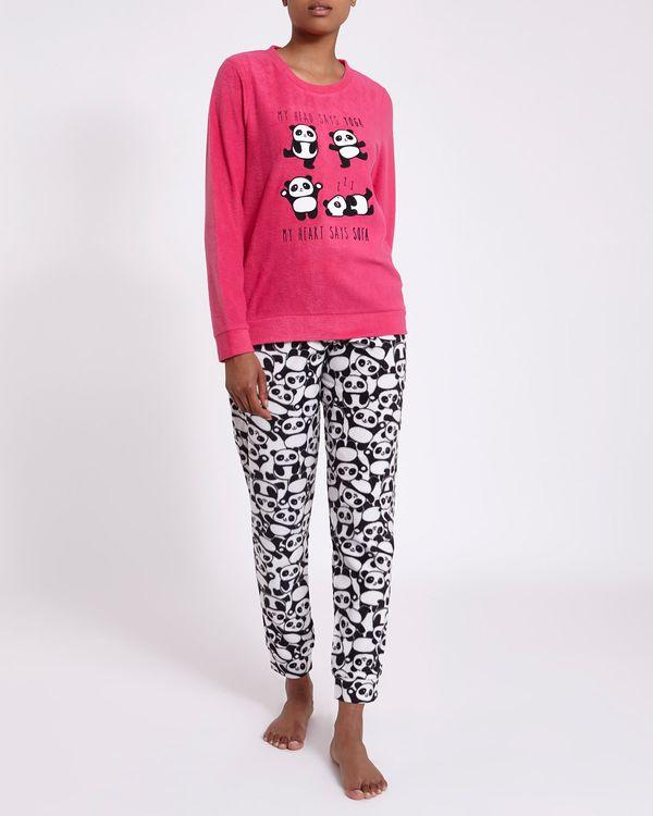 Panda Micro Fleece Pyjamas