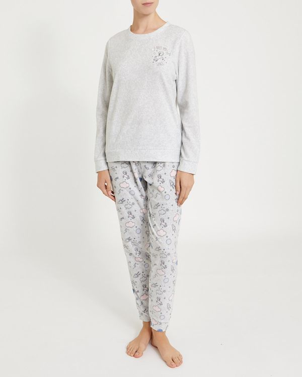 Need Space Micro Fleece Pyjamas