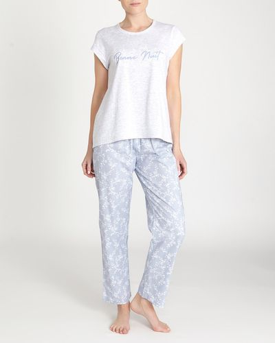 Blue Chambray Pyjama Set thumbnail