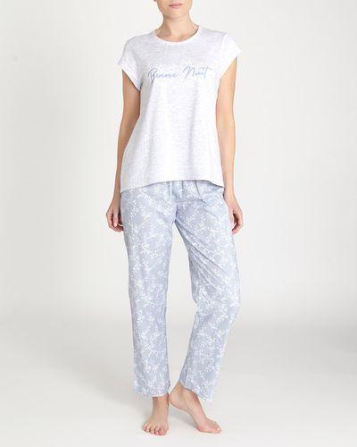 Blue Chambray Pyjama Set