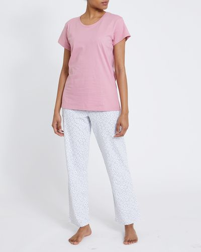 Daisy Straight Leg Pyjama Set