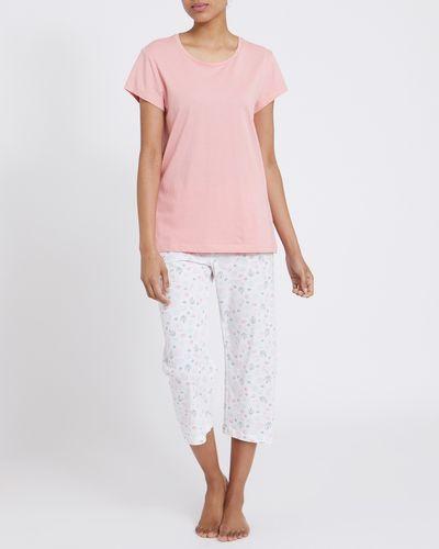 Coral Knit Cropped Pyjamas