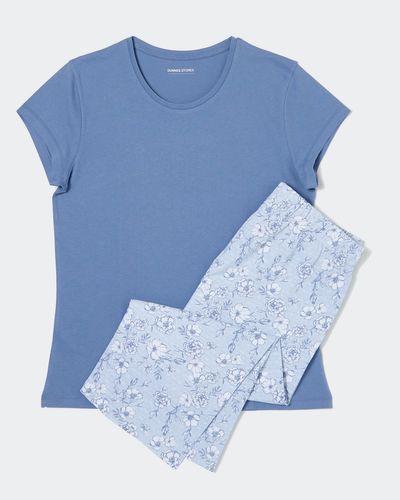 Floral Knit Crop Pyjamas