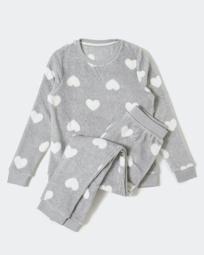 Fluffy Heart Pyjamas