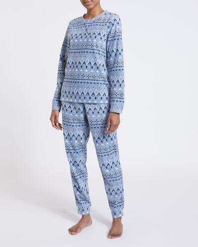 Fair Isle Microfleece Pyjamas
