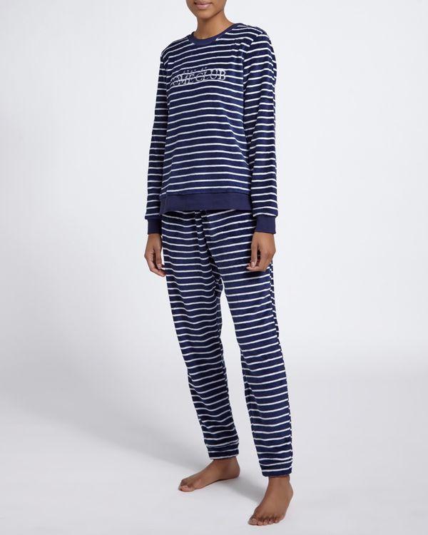 Fluffy Slogan Pyjamas