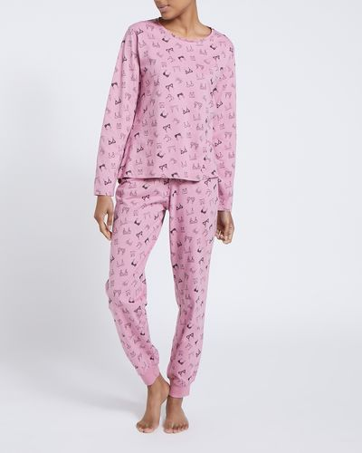 Lingerie Print Pyjamas thumbnail