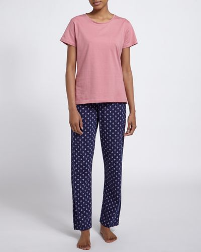 Tile Short-Sleeved Pyjamas