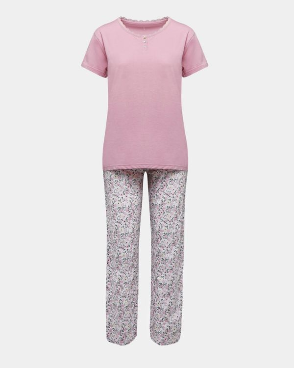 Henley Knit Pyjamas
