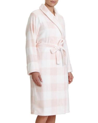 pink-checkGingham Wrap
