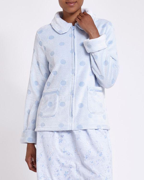 Spot Zip Bed Jacket