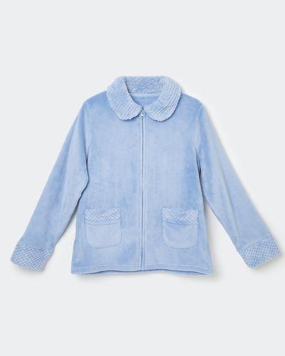 Waffle Stitch Bed Jacket